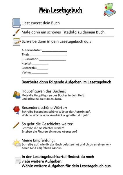 Kohls Lesetagebuch Fur Alle Bucher 8